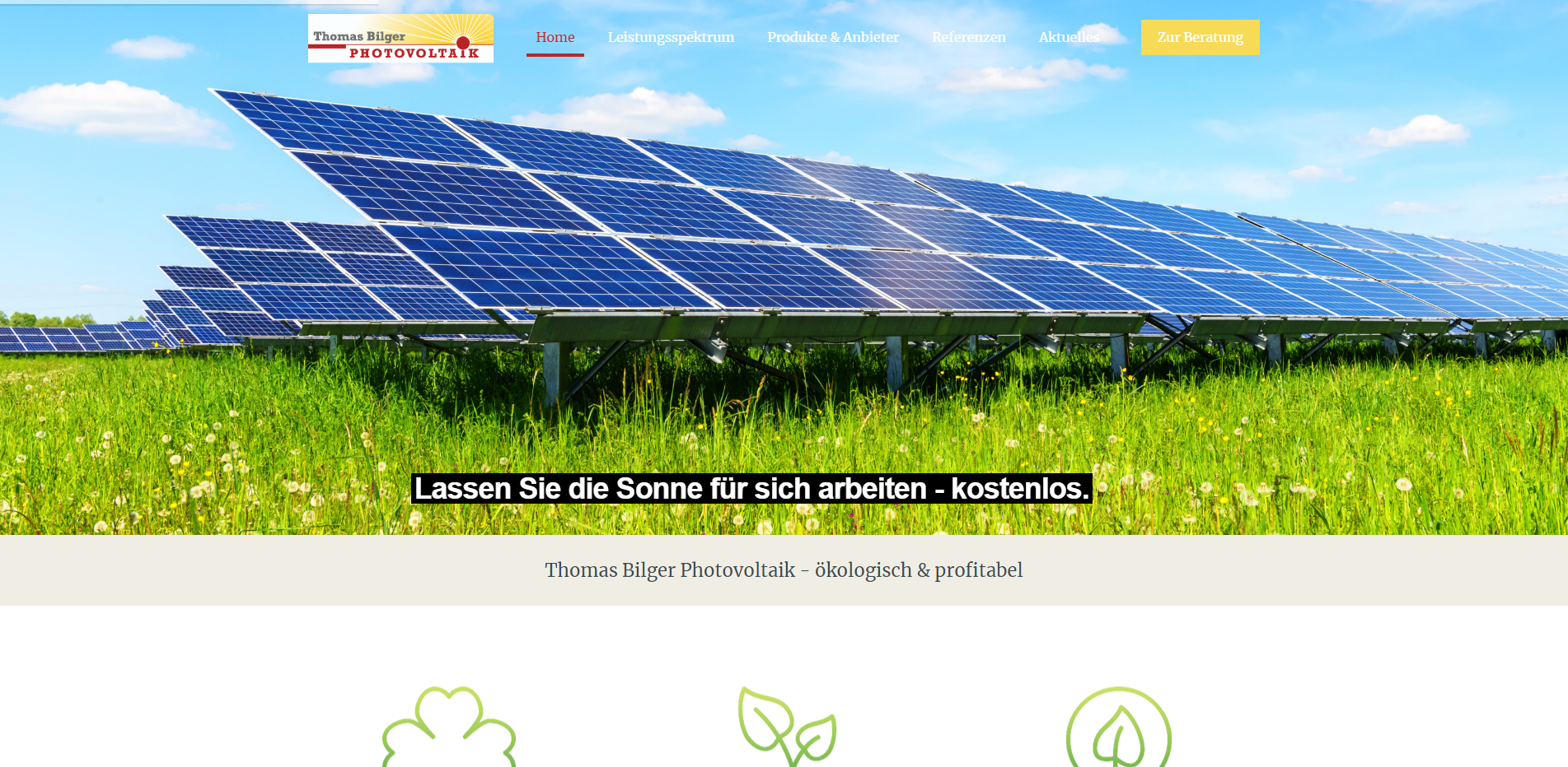 Home Photovoltaik Thomas Bilger