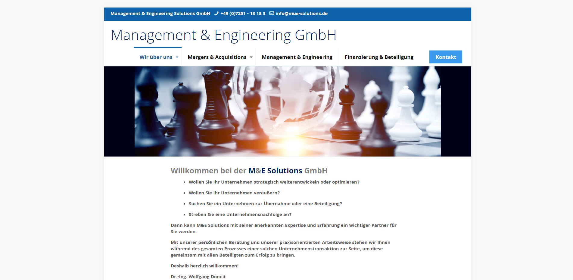M E Solutions GmbH