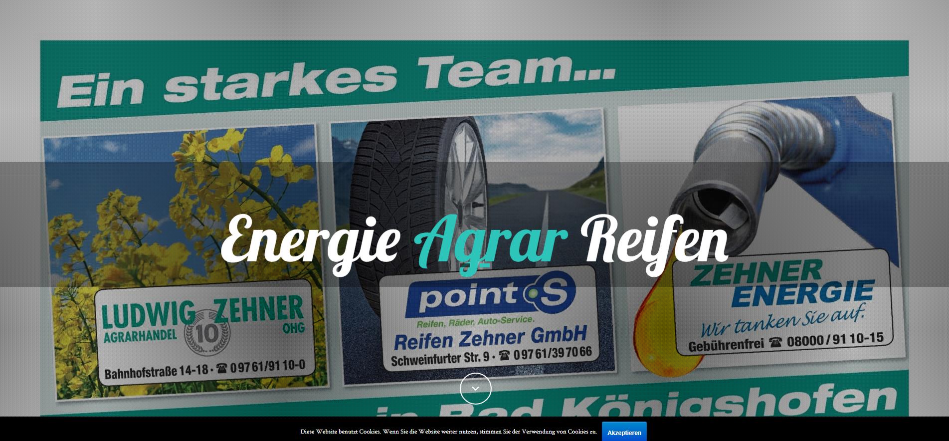 Startpage Zehner Gruppe